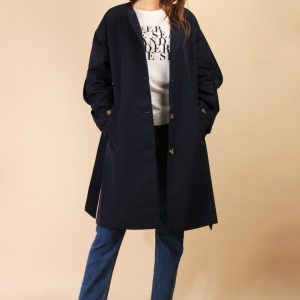 brune paris concept store trench navy